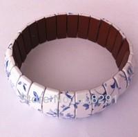 Chinese Style Energy Healty Care Anti-Radiation Hand Bracelet Hand Chain Tourmaline Bracelet