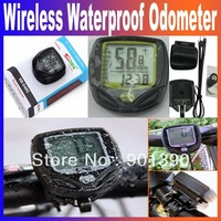 Wireless LCD Bike Bicycle Cycle Computer Odometer Speedometer Waterproof  SD-548C With Retail Box Free Shipping