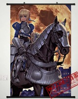 2013 Free Shipping Fate zero saber 90 60 - 149 decorative painting mural cloth paintings  1 pcs in stock