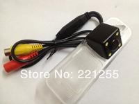 hd ccd+led car Waterproof camera Free shipping FOR KIA K2 KIA RIO