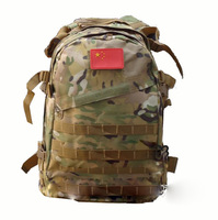 Cp Camouflage backpack mountaineering bag backpack 3d attack packets outdoor backpack tactical backpack flag