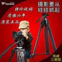 Weifeng 717 1.8 meters professional camera slr camera tripod set