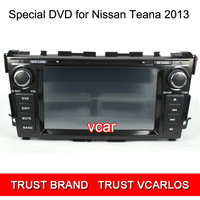 Free Gifts + Free Shipping HD 8 Inch Special Car DVD Player for NISSAN TEANA 2013 with GPS Function