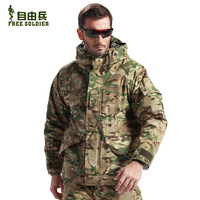 Outdoor tactical male plus size american style outdoor waterproof jacket trench Camouflage outerwear m65