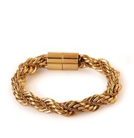 Wholesale Jewelry Stylish Futuristic Braided Bracelet 6852