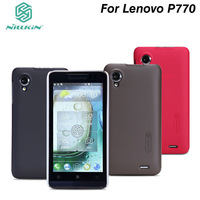 "5Pcs/lot Original NILLKIN ""super frosted shield"" hard case for Lenovo Lephone p770 With Screen protector.Free shipping"