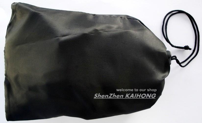 F05653 OEM Universal Storage Bag Black for GoPro HD Hero 1 2 3 SUPTIG Accessories + Free shipping(China (Mainland))