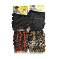 Expression X-pression Diva Toyokalon Synthetic Hair Extensions Deep Wave Hair Weaving Weft Color 1B/27 1B/350 5Packs/Lot 8""