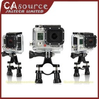 Bike Bicycle Handlebar Seatpost Mount Holder Bar Stand Support For Action GoPro Hero 1/2/3 Original Cam Camera Free Shipping
