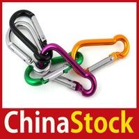 [ChinaStock] 3 X Aluminium Carabiner Camping Hiking Hook Keychain S wholesale