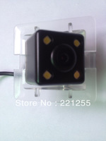 toyota prado 2010  hd ccd+led car Waterproof camera Free shipping