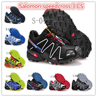 2013 New Arrived Salomon speedcross 3 Men Running Shoes Men's Hiking Shoes And Men Athletic Shoes Size 7 to 11.5 Free Shipping
