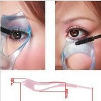 100Pcs/lot 3 in 1 Mascara Eyelash Brush Curler Lash Comb Cosmetic