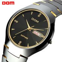 military watch men     steel  dive  dom retro     casual quartz   watches men wristwatches relogio masculino watch man relojes