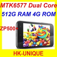 MTK6589T ZOPO ZP500+ 4.0'' IPS Screen Dual Core 3G GPS Android 4.0 Smartphone
