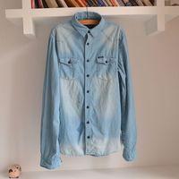 100% male cotton corduroy long-sleeve shirt