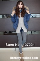 New winter womenswear students with thick cotton-padded clothes short winter coat of cultivate one's morality