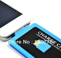 Creative cards micro portable portable charging cable data cable S3/S4/4S Free shipping