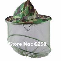Hot Sale 3PCS /Lot Mosquito Bug Insect Net Bee Mesh Head Face Protect Fishing Hat Hunting Camping 10-068