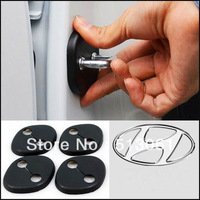 4pcs/set car door lock cover Door Lock Protecting Cover fit Tucson IX35 / IX45 /Elantra Avante MD/ YF Sonata/ Sportage R I30
