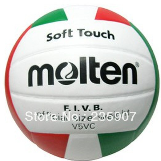 Free Shipping Molten PU High Quality V5VC Volleyball Size 5 FIVB Indoor Official Soft Touch Match Volleyball(China (Mainland))