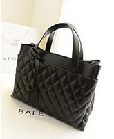 High Quality  NB204 2013 New  Autumn Winter Women  Plaid Handbags Motorcycle Bag Lady Totes Shoulder Bags   Factory Price