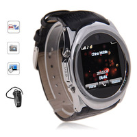 Free shipping G888 Black Gold 1.5 inch Watch Phone Single SIM Touch Screen with Bluetooth
