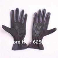 Женские перчатки из кожи B57] women's novelty chic diamond semi-finger colorful PU leather gloves, dancing fingerless opera gloves