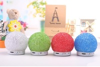 Free Shipping The new 2013 Christmas gift FM TF card, bluetooth function MP3, MP4, PC, laptop, mobile phone speaker bluetooth