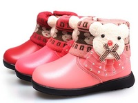Free shipping! High quality  2013 children low bear boots, girl boots, child snow boots, shortly tomentose