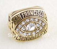 Free shipping gold 1 pc replica SAN FRANCISCO world championship ring(cring0027)
