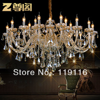 [ Statue ] Court distinguished luxury penthouse living room lamp crystal lamp crystal chandelier European with Z009 Secret Garde