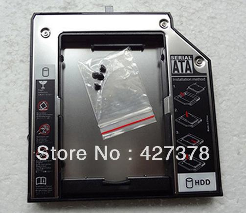 second 2nd HDD SSD hard drive caddy bay For Lenovo Thinkpad W510 W520 W530 W700 W700ds W701 W701ds W710(China (Mainland))