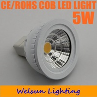 20X New 5W 12V MR16 High Power COB LED Light Lamp Bulb Warm White with cover