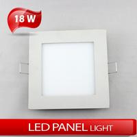 LED panel light 18W Ultrathin Square panellight warm white/cold white AC85~265V