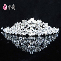 Water diamond jewelry bridal headdress hair accessories wedding flowers