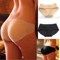 2014 New Sexy Women Hip Up Padded Enhancer Shaper Lady Sexy Panties Seamless Soft Underwear