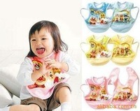 100pcsFactory direct Anpanman waterproof sleeveless lace bib / / bibs / Anti dress / gown / Rice clothing