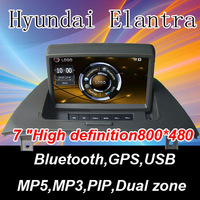 "7 ""High definition digital panel Built-in Bluetooth,GPS,USB Special for Hyundai Elantra"
