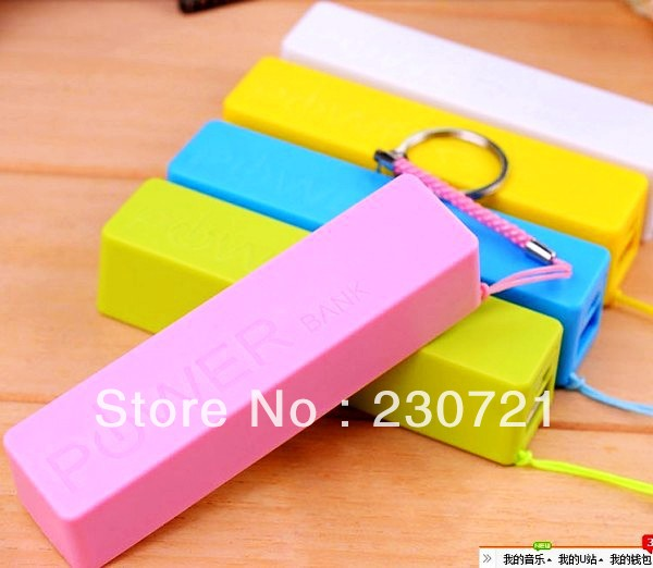 Free Shipping 2600mAh Phone Power Bank Perfume External Battery Charger For all Mobile Phone mp3 with retail box 200pcs(China (Mainland))