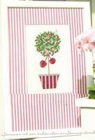 Free Shipping Cross stitch dmc spiraea rs magazine - cherry  christmas