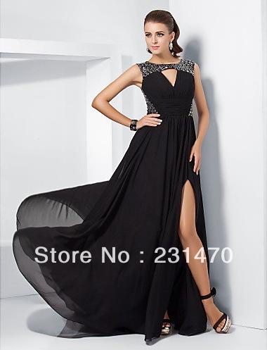 Вечернее платье Chiffon line Jewel LTE18