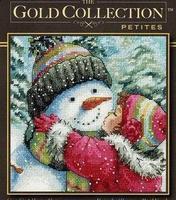 Free Shipping Christmas sale Cross stitch dmc spiraea rs dim-08833-a kiss for snowman
