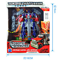 Newest 20CM Transformable robots,Optimus Prime,Robot Action & Toy Figures model,Autobots Toy for boys/girls,simplified version