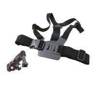 Chest Body Strap For GoPro Hero3 hero2 hero1 with 3-way adjustment base j hook Chest Mount Harness Adjustable Elastic Body belt