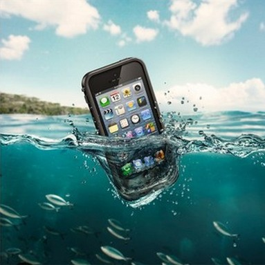 Free Shipping 100% sealed Waterproof Durable Water proof Bag Underwater back cover Case For iPhone 5 5s New Arrival(China (Mainland))