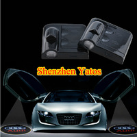 9th Generation WIRELESS Car Projector Logo Lights Door Ghost Shadow Light 3D Logo LED Welcome Light