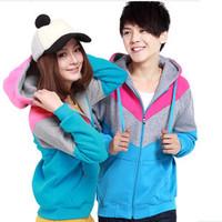 Free shipping lover hoodies,contrast panel hoodies,sweatshirt hoodies,M,L,XL,XXL,XXXL,3 colors