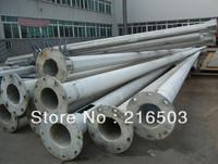 prepainted lighting welded steel poles