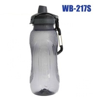 E0109 Sports Water Bottle 650ml with Quick Release Buckle Withstand High Temperatures Outdoor Bicycle Sports Drink Jug EDC